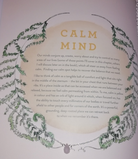 book review calm by fearne cotton a x. Black Bedroom Furniture Sets. Home Design Ideas